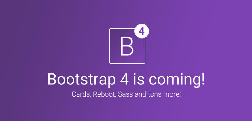 twitter bootstrap 4 responsive sass